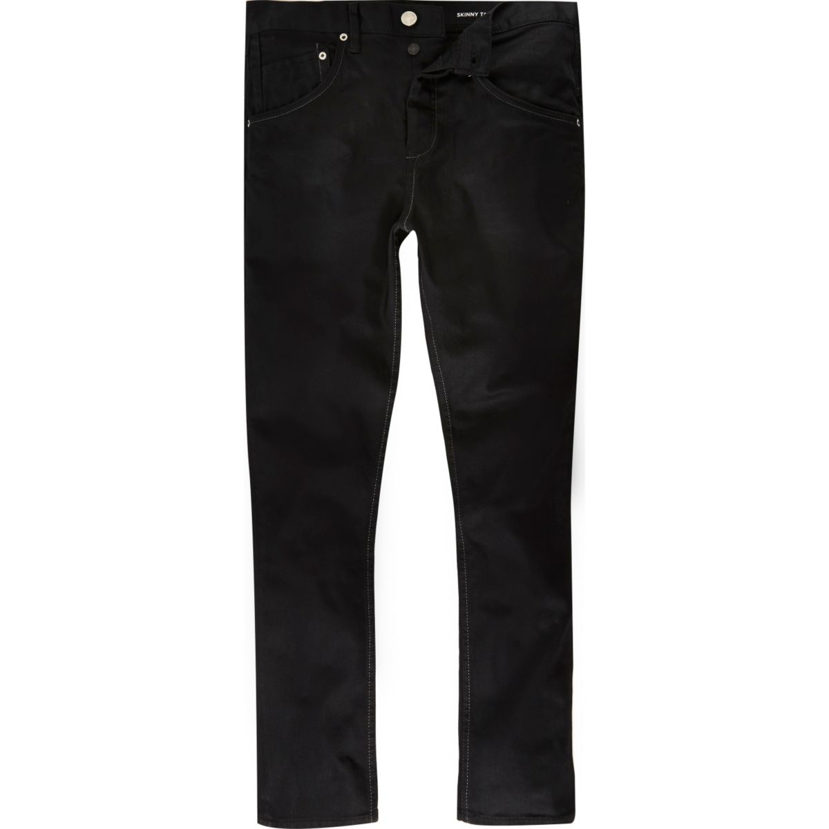 Black Chester skinny tapered jeans