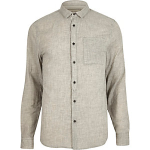 Grey marl shirt