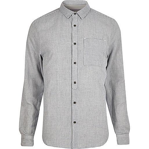 Blue long sleeve shirt