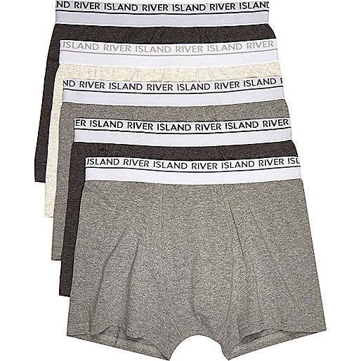 Grey boxers multipack