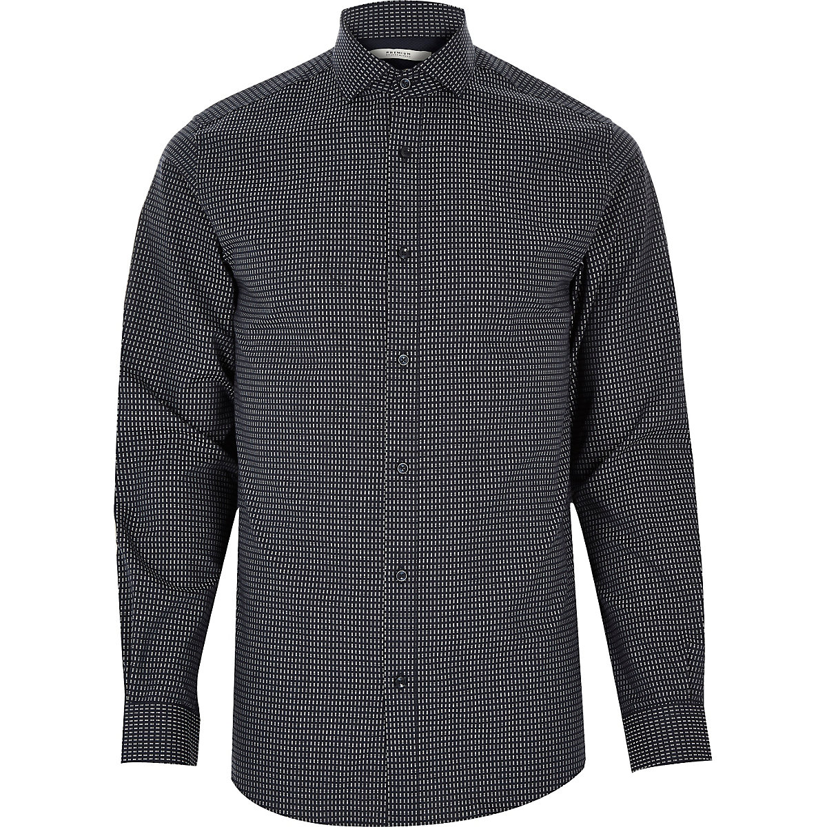 Grey Jack & Jones Premium printed shirt