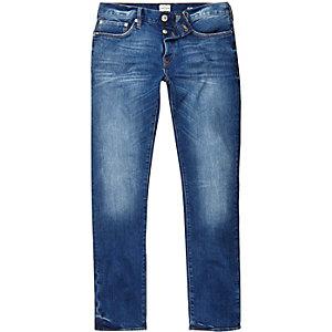 Dylan – Slim Jeans in mittelblauer Waschung