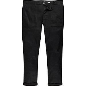 Black worker Sid skinny stretch jeans