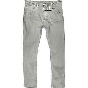 Chester grijze skinny jeans met smaltoelopende pijpen