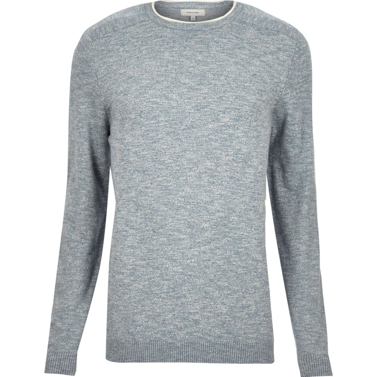 Light blue crew neck jumper