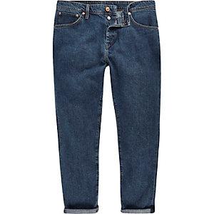 Vintage blue Jimmy slim tapered jeans