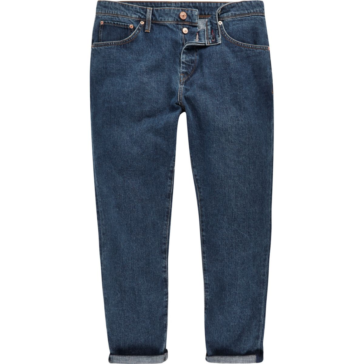 Vintage blue Jimmy slim tapered jeans