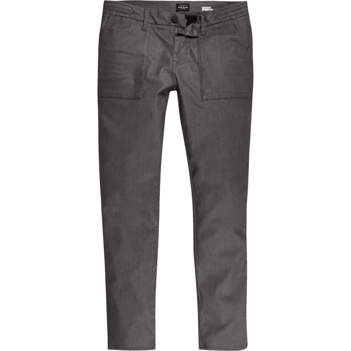 Brown Sid skinny stretch jeans