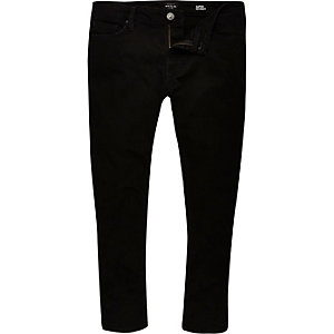 Black Danny super skinny cropped jeans