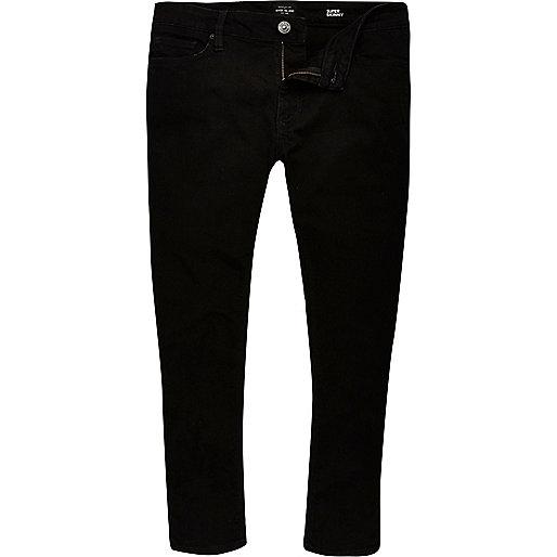 Black Danny super skinny cropped jeans