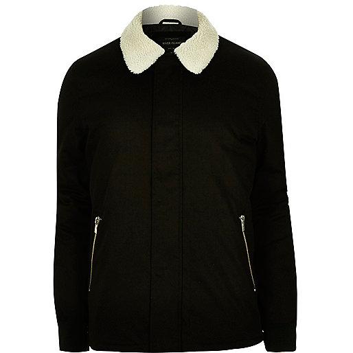Black borg coach jacket