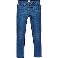Bright blue Sid skinny stretch jeans