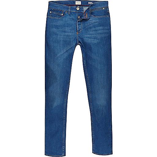 Sid – Skinny Stretch-Jeans in Strahlend Blau