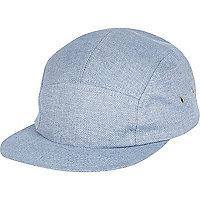 Blue chambray cap