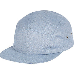 Blue chambray cap