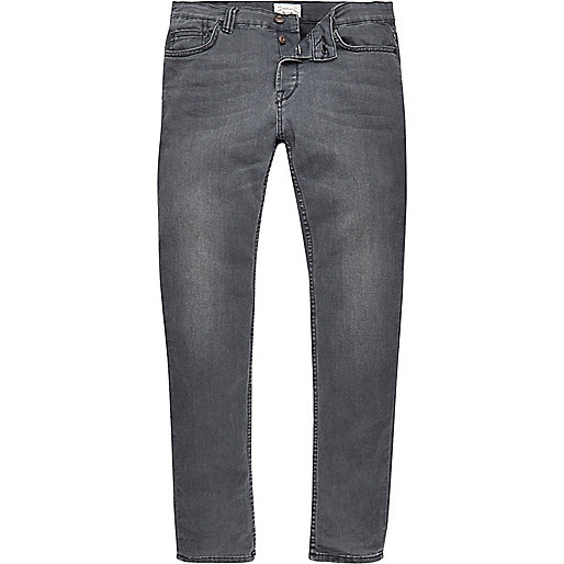 Grey Only & Sons skinny jeans