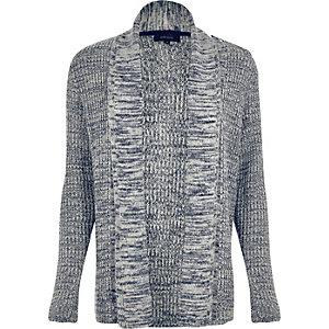 Light blue textured cardigan
