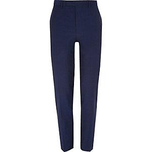 Pantalon de costume bleu vif coupe slim