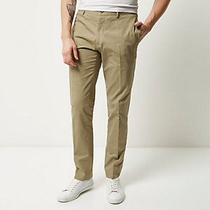 Stone Vito smart trousers