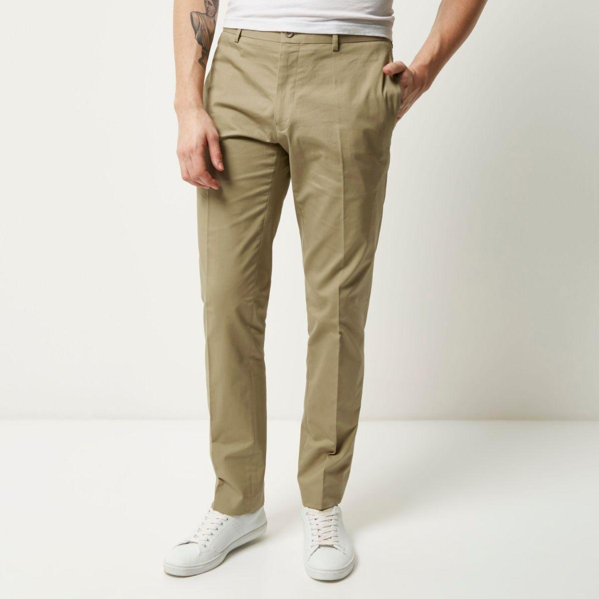 Stone Vito smart trousers