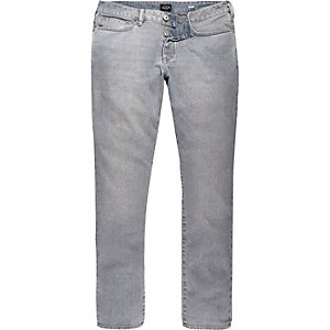 Light grey Dylan slim jeans