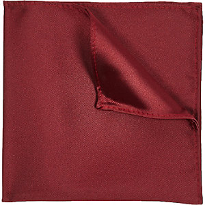 Red pocket square