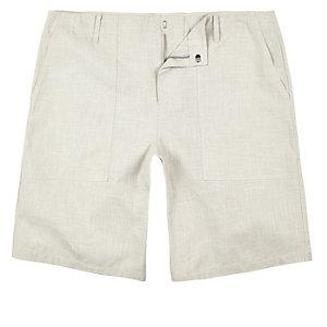 Stone smart textured chino shorts