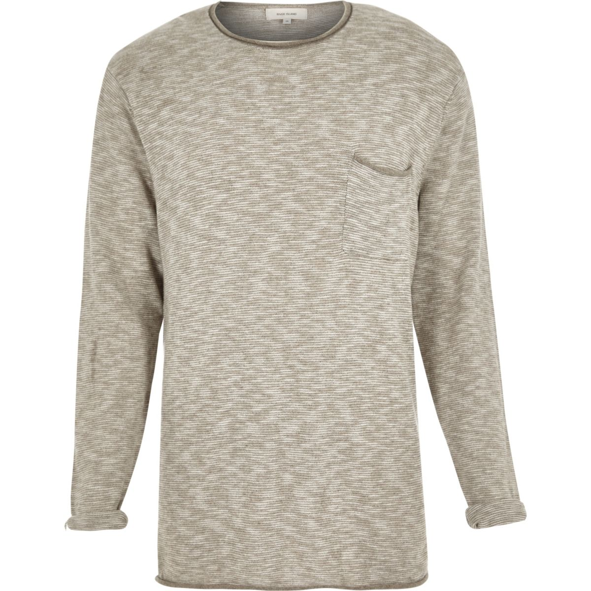 Stone texture sweater