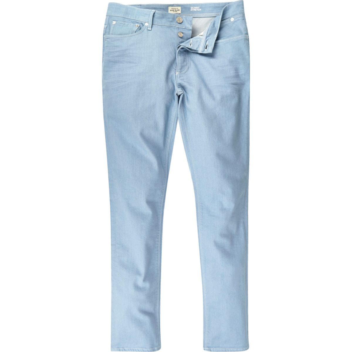 Light blue wash Sid skinny stretch jeans
