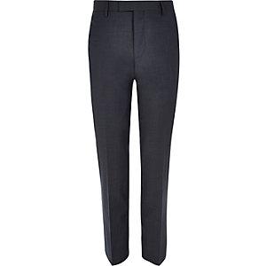 Grijze slim-fit pantalon