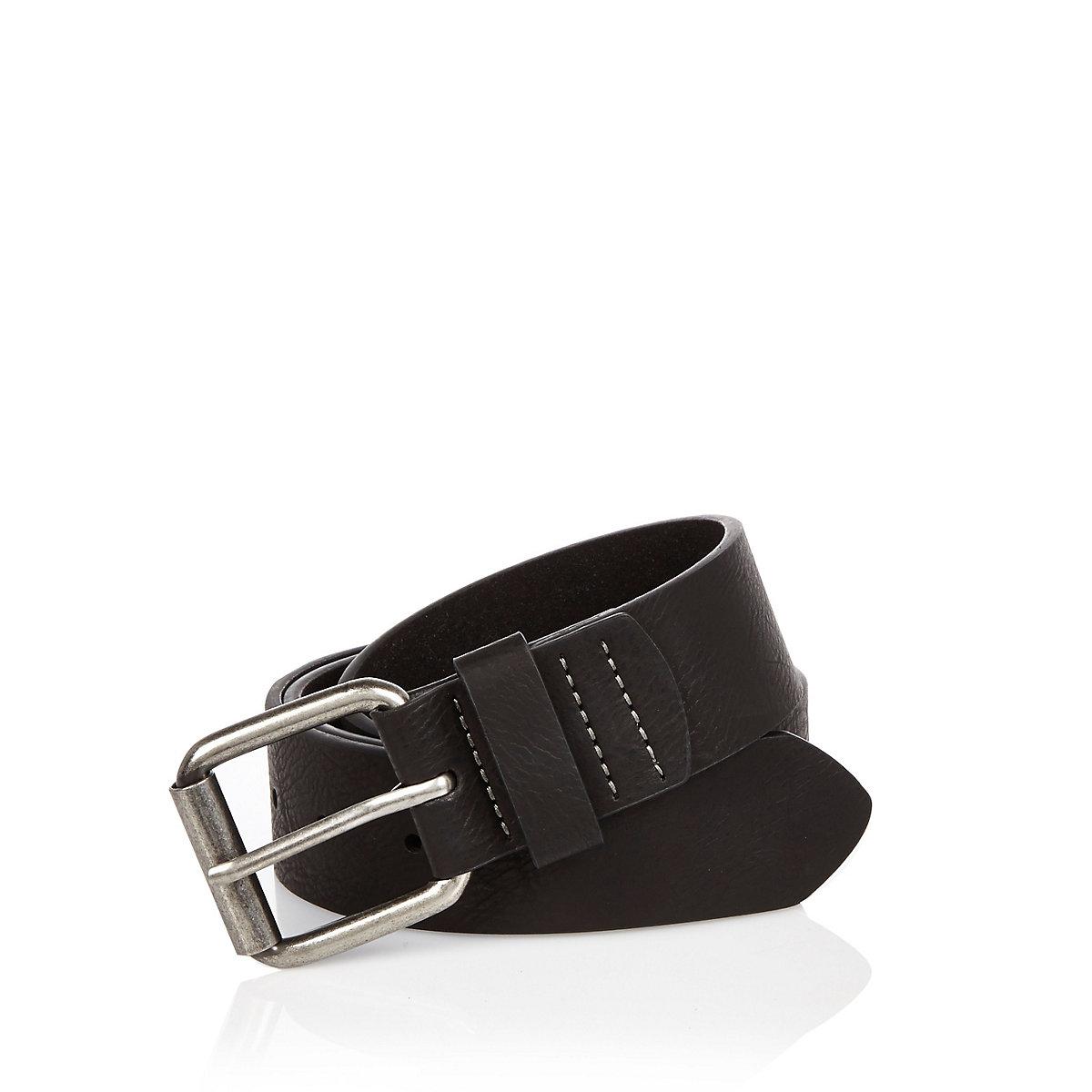Black basic belt