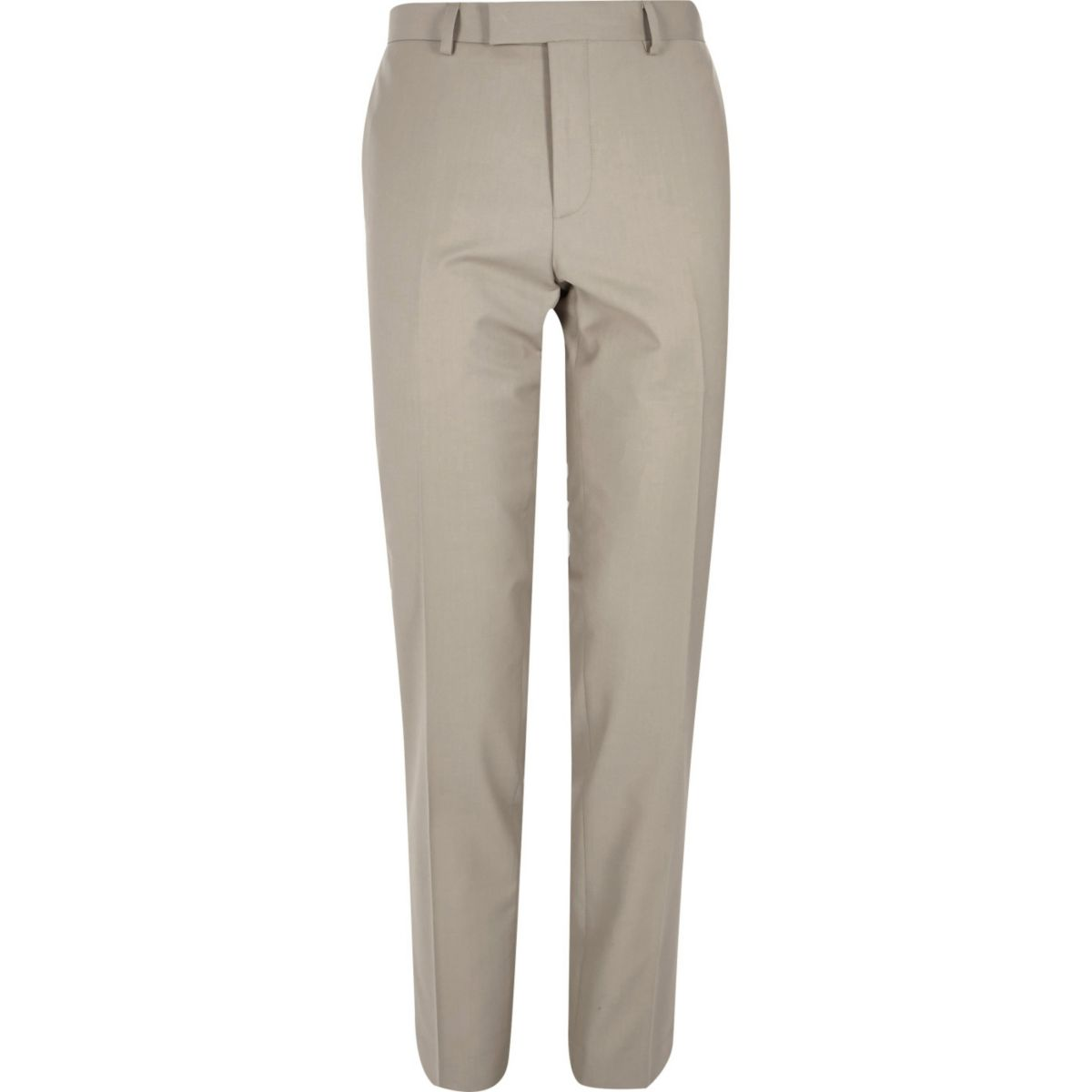 Beige skinny-fit pantalon