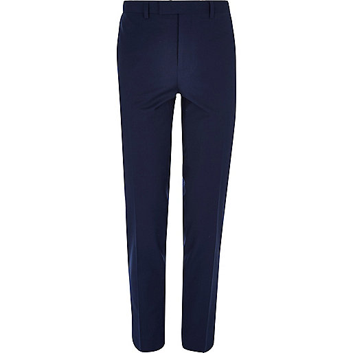 Navy skinny suit trousers - seasonal offers - sale - men