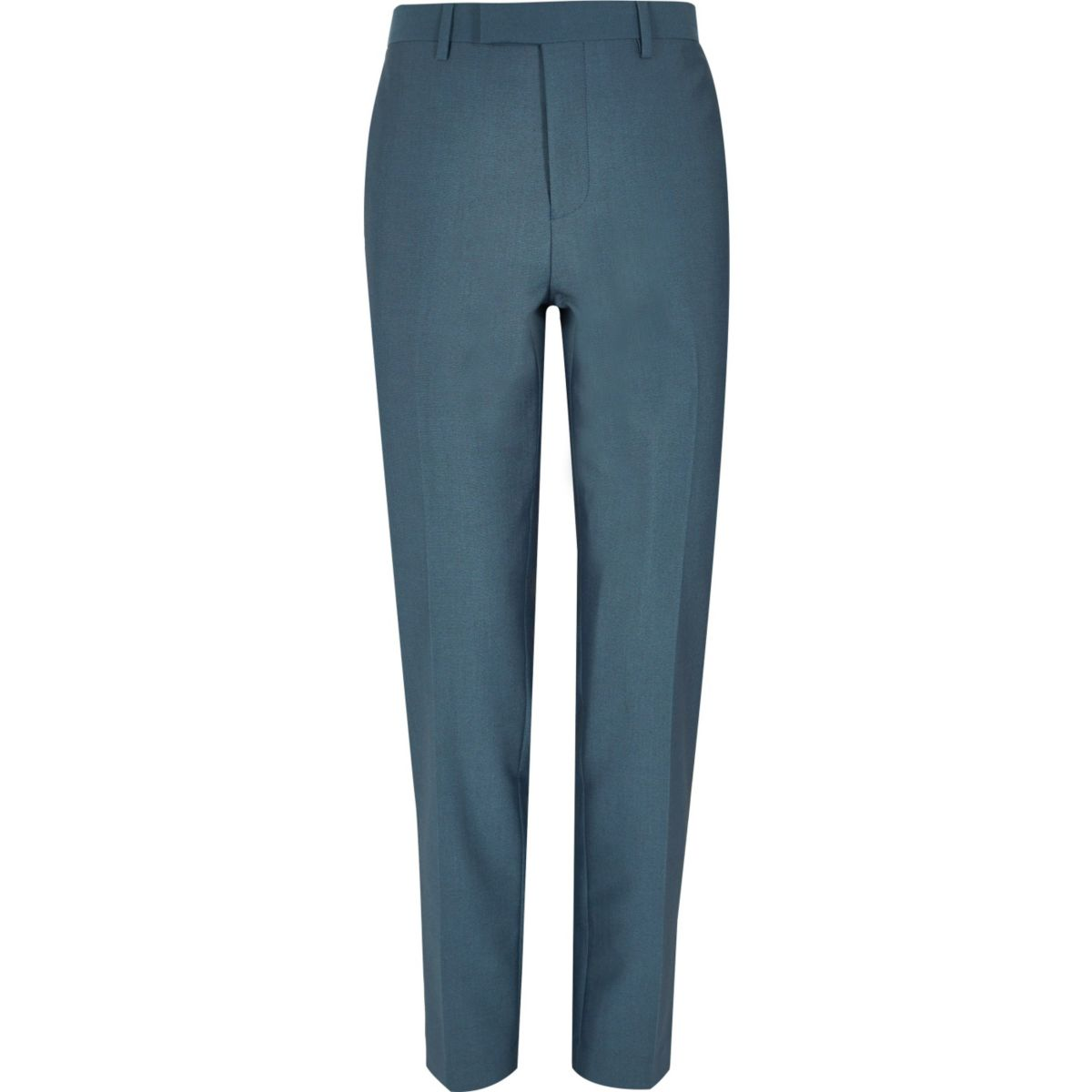 Blaue Slim Fit Anzughose