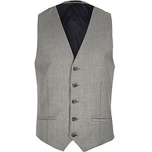 Grey duck tales vest