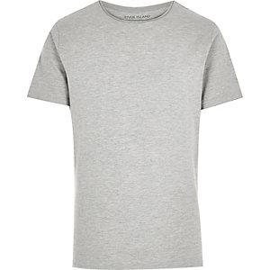 Ecru marl short sleeve t-shirt