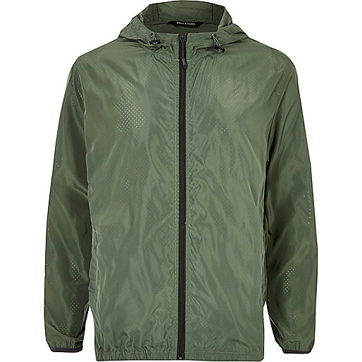 Green Only & Sons zip jacket