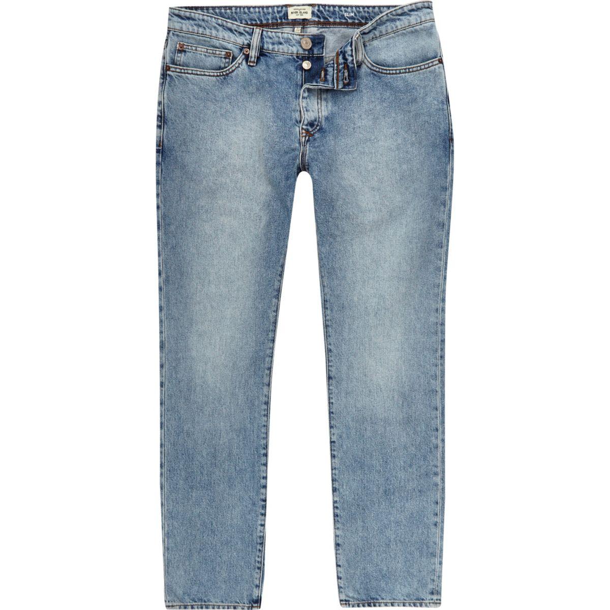 Light blue wash Dylan slim fit jeans