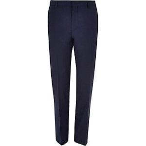 Navy slim Travel Suit pants