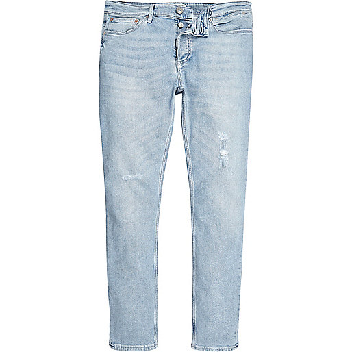 Light blue wash Sid skinny jeans - jeans - sale - men