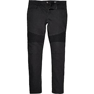 Sid – Graue Skinny Biker-Jeans