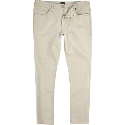 Lichtbruine Danny superskinny jeans
