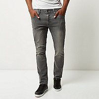 Grey Dylan slim fit jeans
