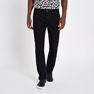 Mens Slim Fit Jeans - Black Slim Fit Jeans - River Island
