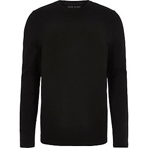 Black T-shirts & vests | Men T-shirts & vests | River Island