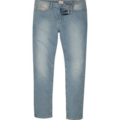 Dylan Lichtblauwe wash slim-fit jeans