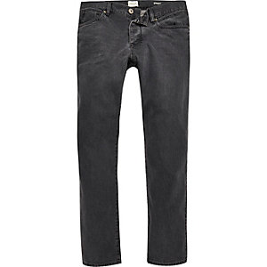 Grey Dean straight jeans