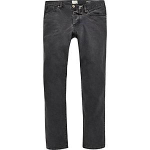 Grey Dean straight jeans