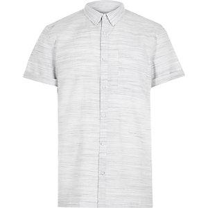 White space dye short sleeve t-shirt
