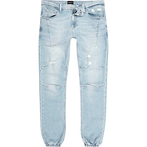 Light blue bleach Ryan jogger jeans